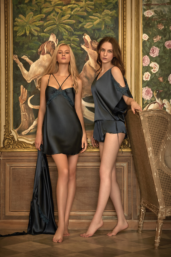SATIN NIGHTWEAR SET